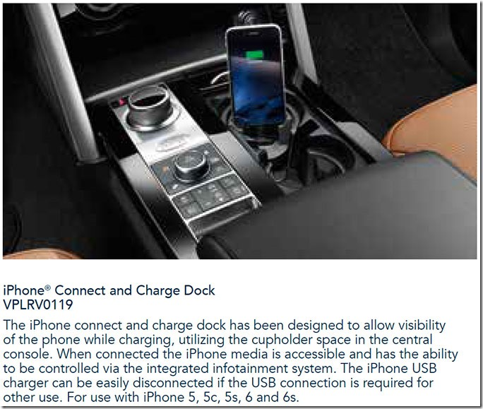 This Is New Right Official Land Rover Iphone Connect And